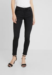 Esprit - Vaqueros pitillo - black dark wash - 0