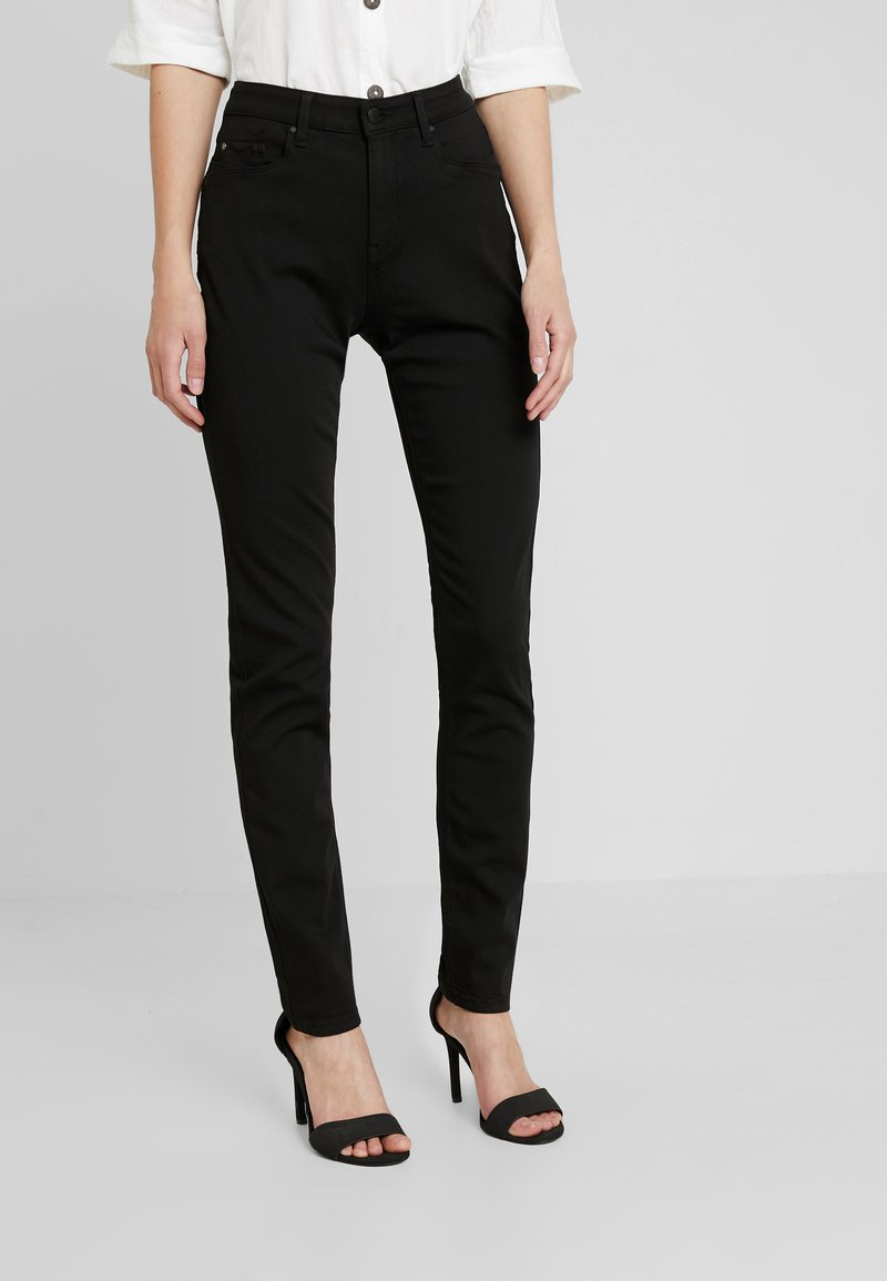 Esprit - Jeansy Slim Fit - black