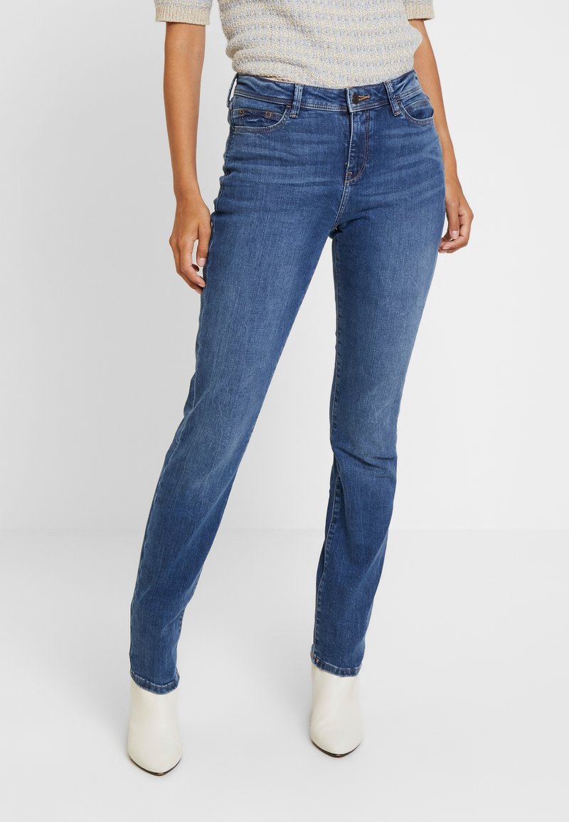 Esprit - SLIM - Jeans Slim Fit - blue medium wash