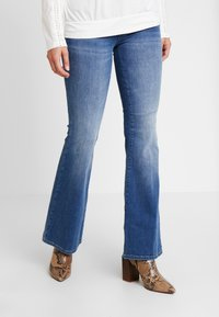 Esprit - Bootcut jeans - blue medium wash - 0