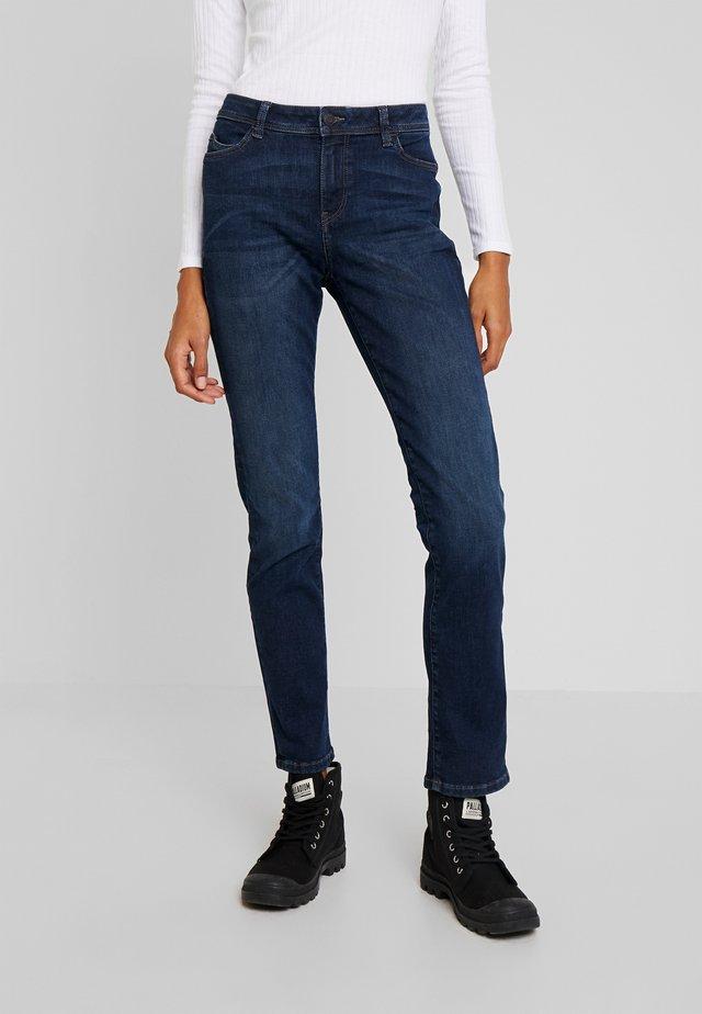 STRAIGHT - Jeans Slim Fit - blue dark wash