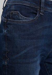 Esprit - STRAIGHT - Jeansy Slim Fit - blue dark wash - 3