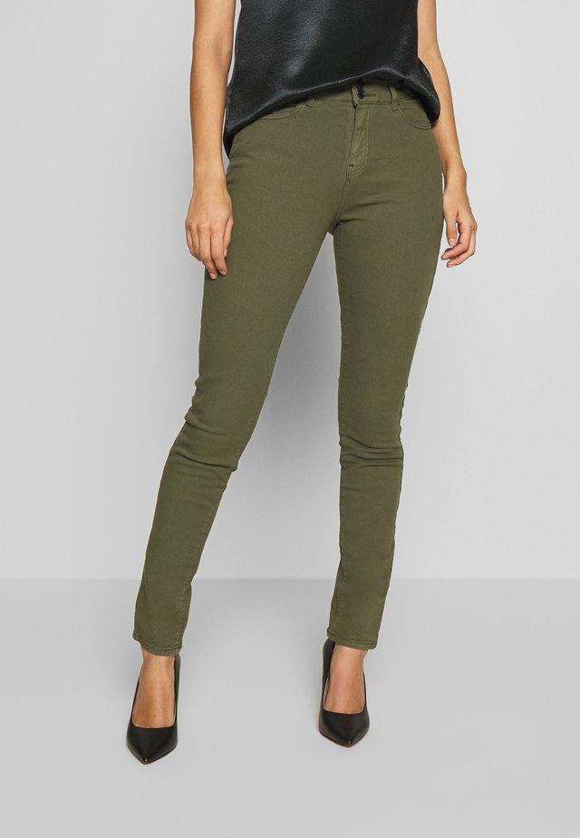 Jeans slim fit - khaki green