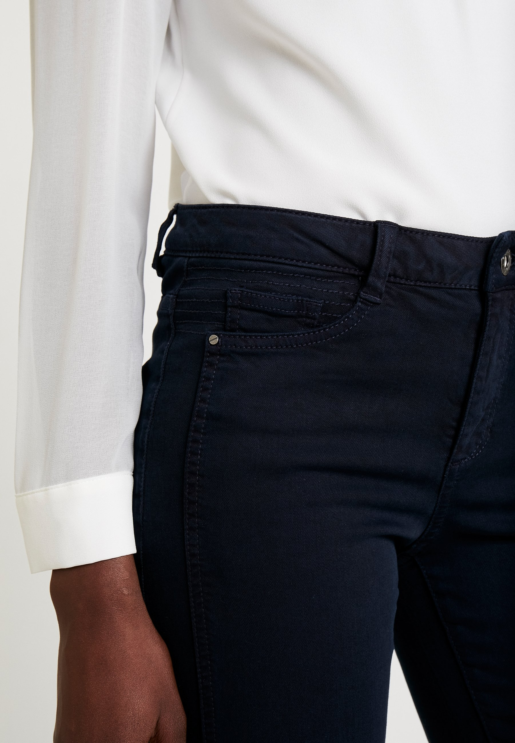 Esprit Jeansy Skinny Fit - navy