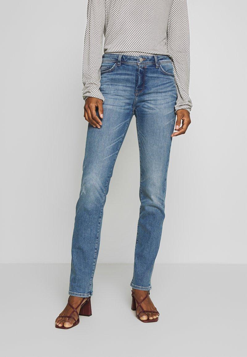 Esprit - Jeansy Slim Fit - blue medium wash