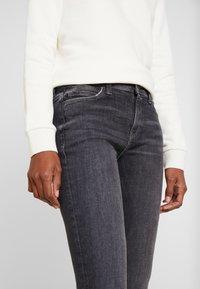 Esprit - Jeans straight leg - black denim - 4