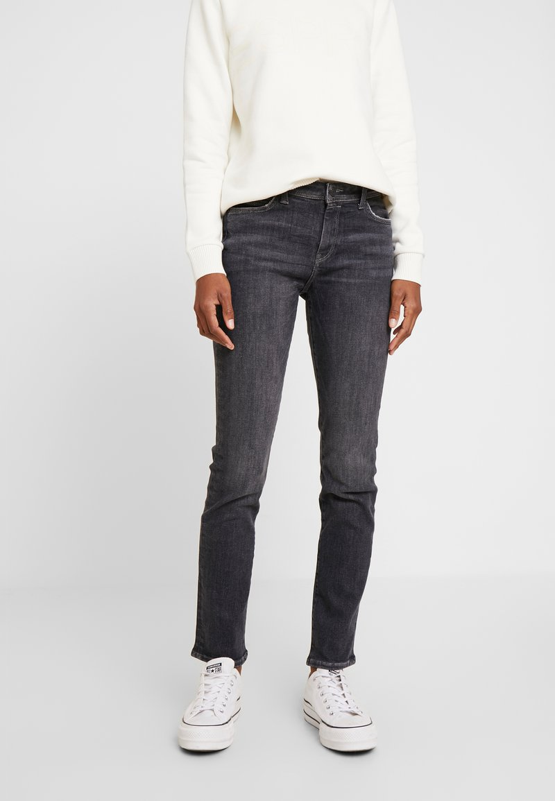 Esprit - Jeans straight leg - black denim