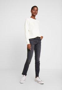 Esprit - Jeans straight leg - black denim - 1