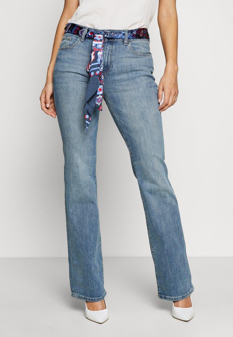Esprit - Bootcut jeans - blue medium wash