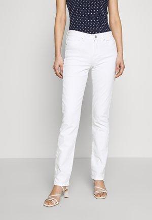 Jeans straight leg - white