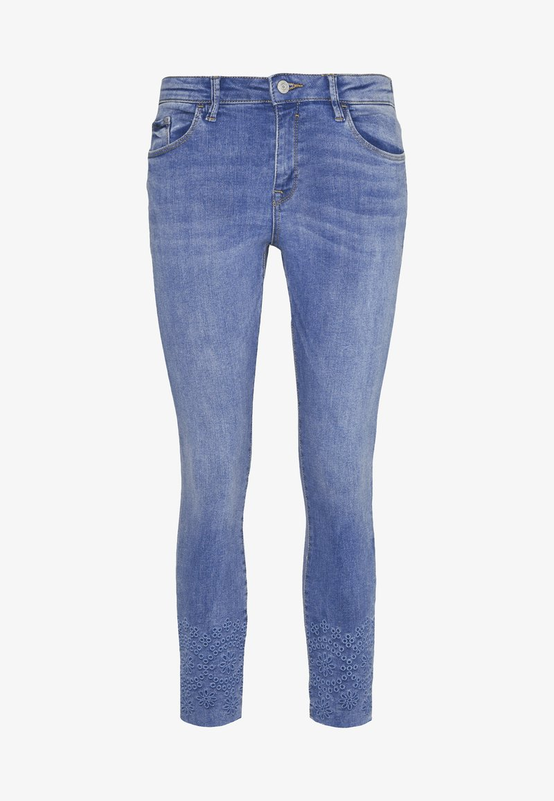 Esprit - MR SKINNY - Jeans Skinny Fit - blue medium wash