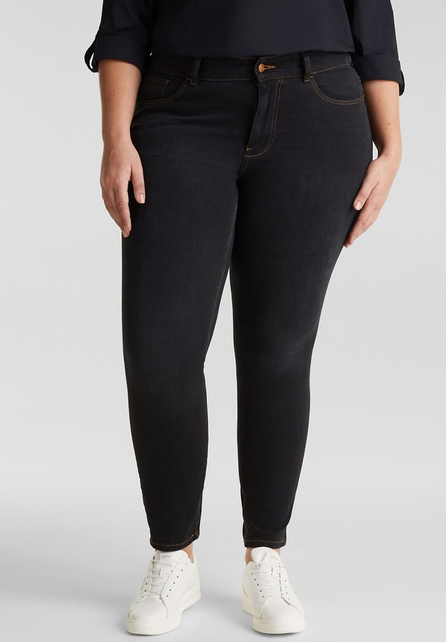 CURVY  - Jeans Skinny Fit - black denim