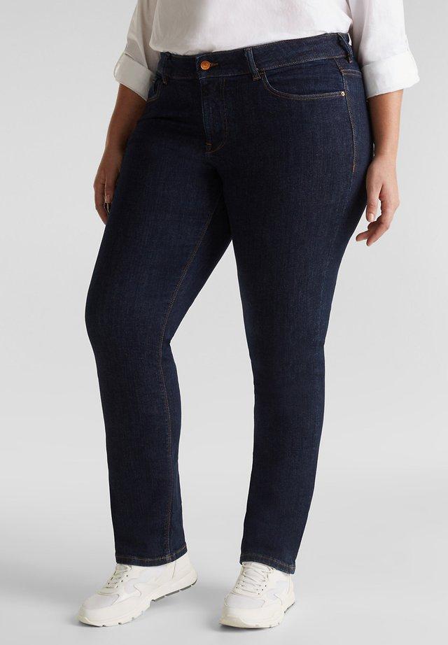 MIT STRETCHKOMFORT - Jeans slim fit - blue rinse
