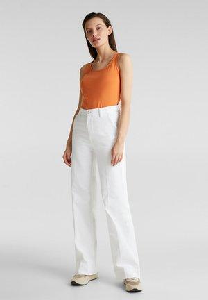 FASHION DENIM - Flared jeans - white