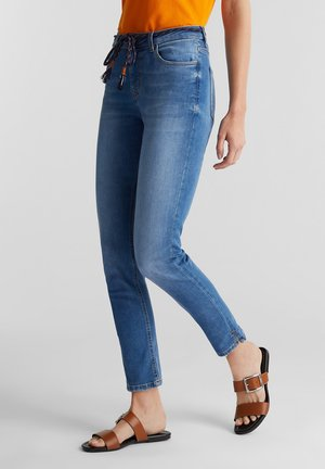 MIT BINDEBAND - Jeans slim fit - blue medium washed