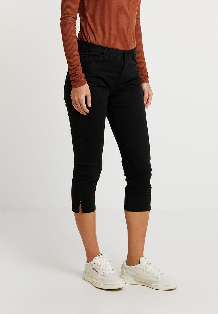 Esprit - CAPRI SLIM - Shorts - black