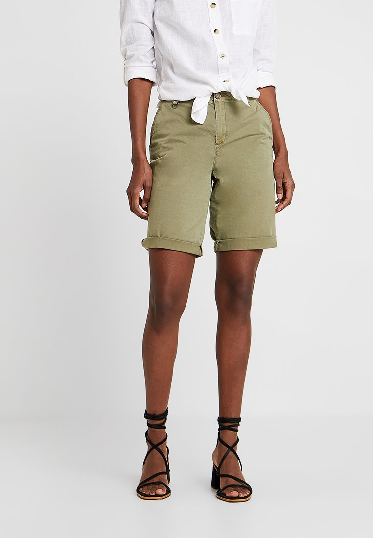 Esprit - BERMUDA - Szorty - light khaki