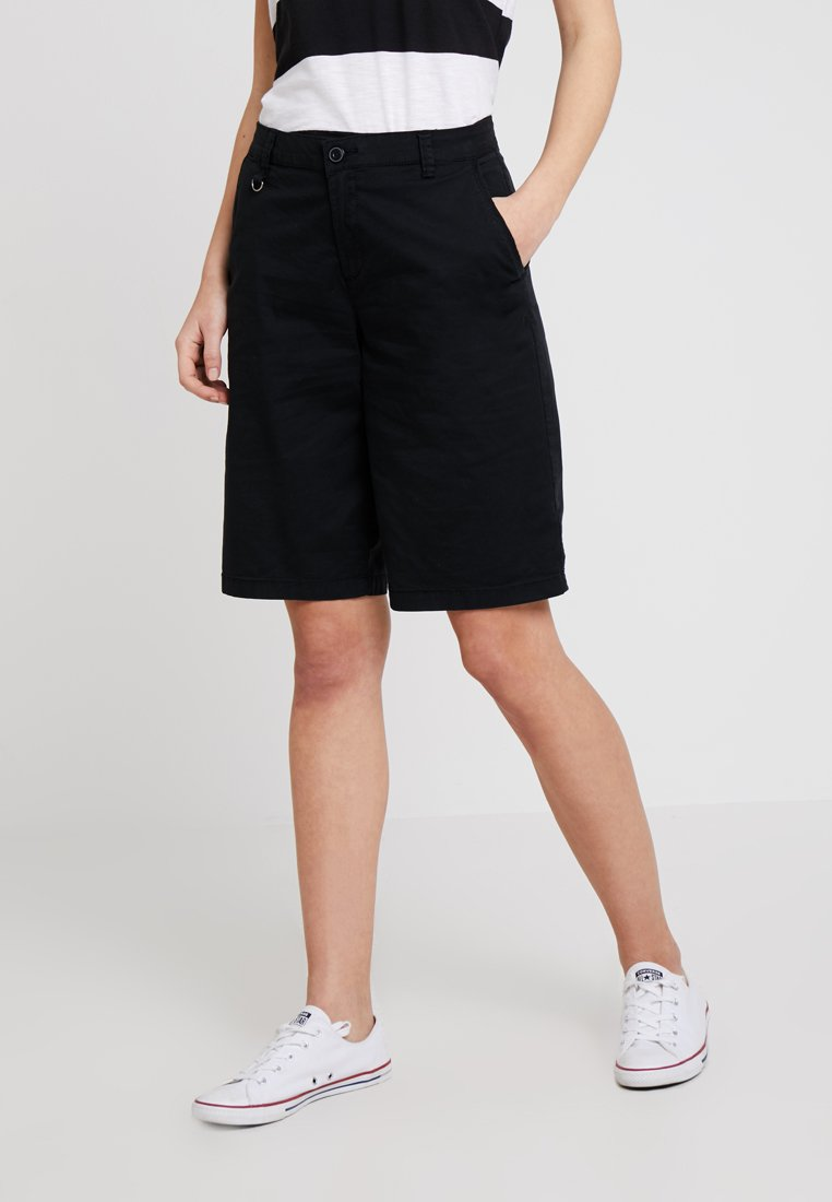 Esprit - BERMUDA - Shorts - black
