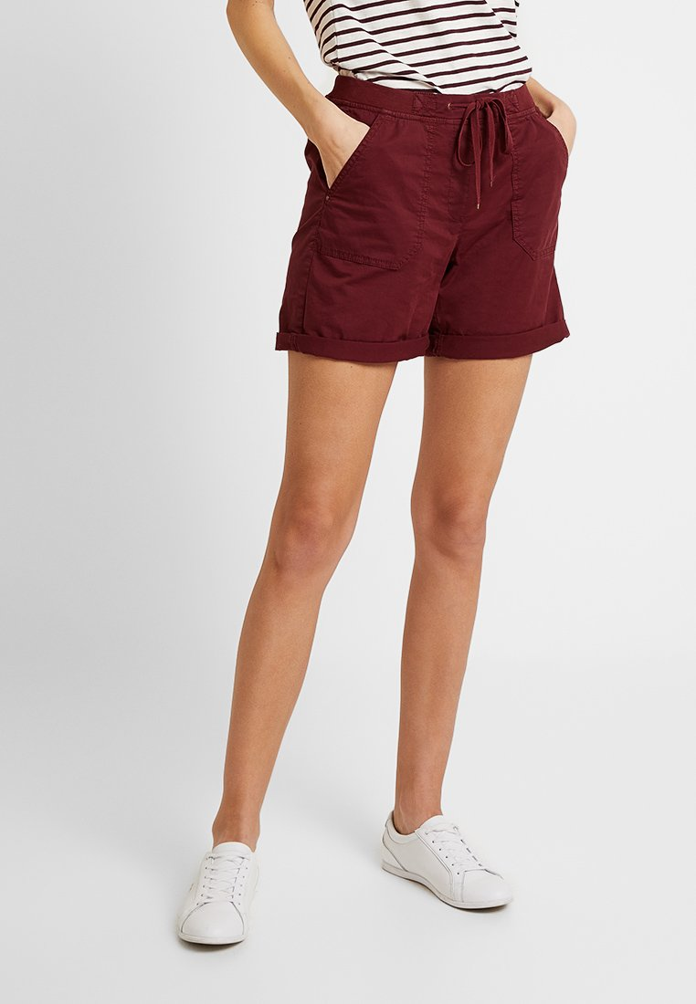 Esprit - Shorts - garnet red