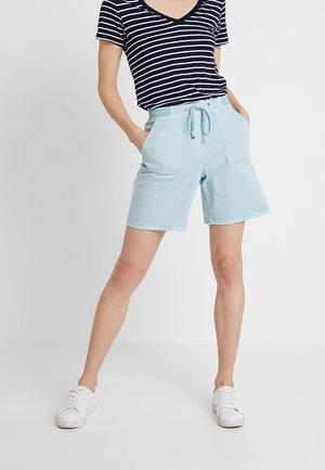 Shorts - light aqua green