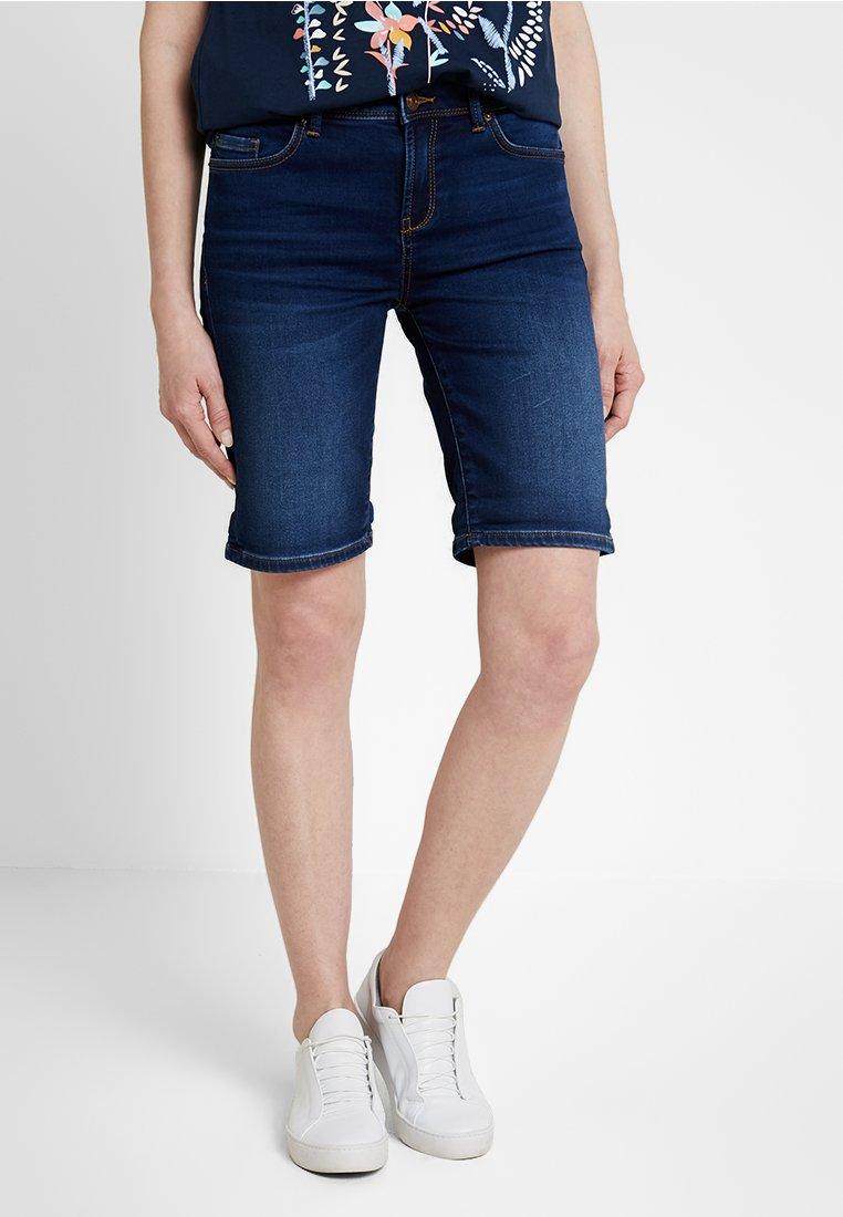 Esprit - Jeansshort - blue medium wash