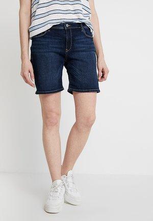Shorts - blue dark wash