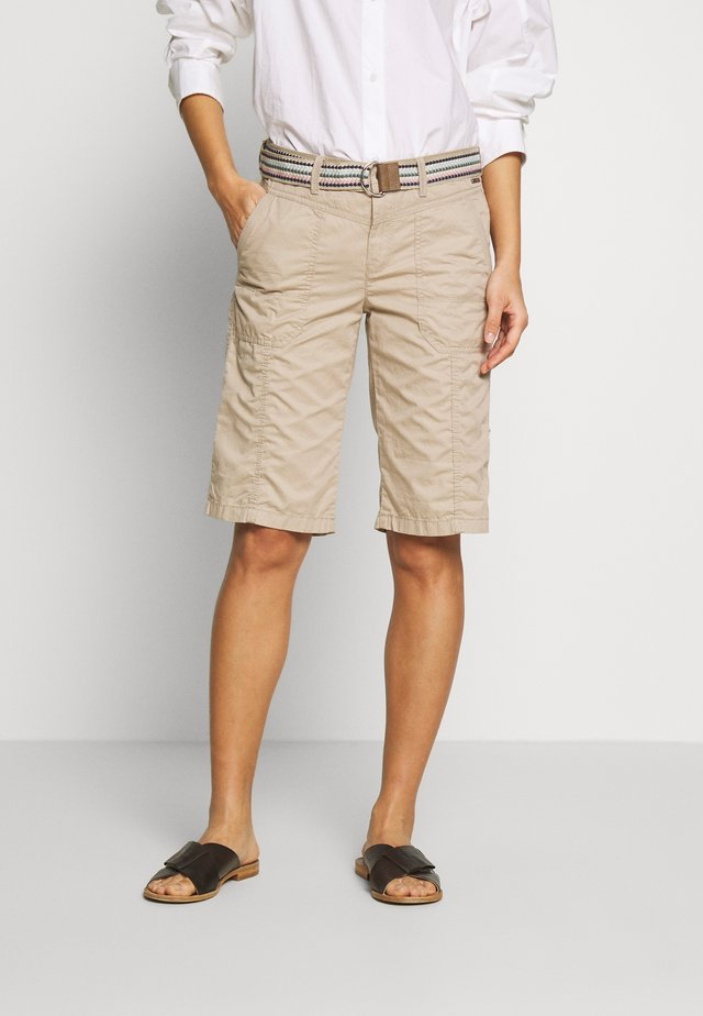 F PLAY BERMUDA - Shorts - beige