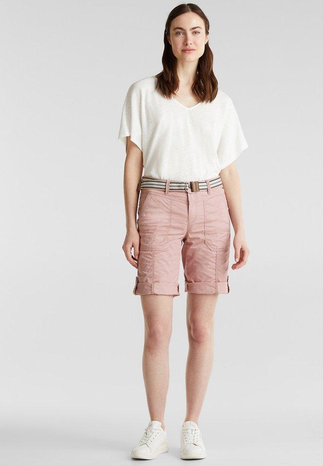 F PLAY BERMUDA - Shorts - old pink
