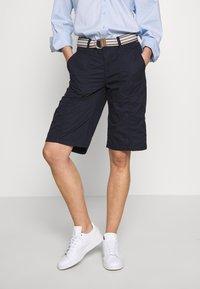 Esprit - F PLAY BERMUDA - Shorts - navy - 0