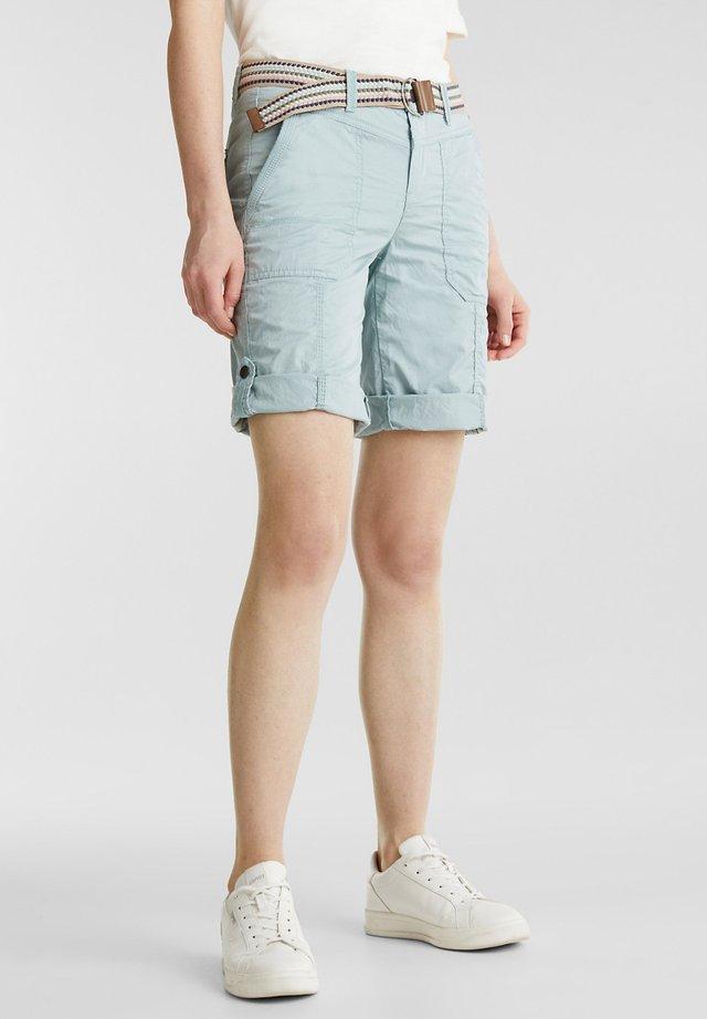 F PLAY BERMUDA - Shorts - light aqua green