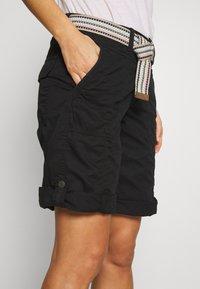 Esprit - F PLAY BERMUDA - Shorts - black - 4