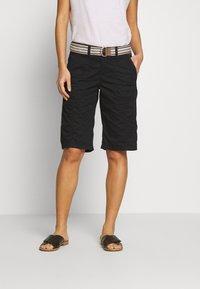 Esprit - F PLAY BERMUDA - Shorts - black - 0
