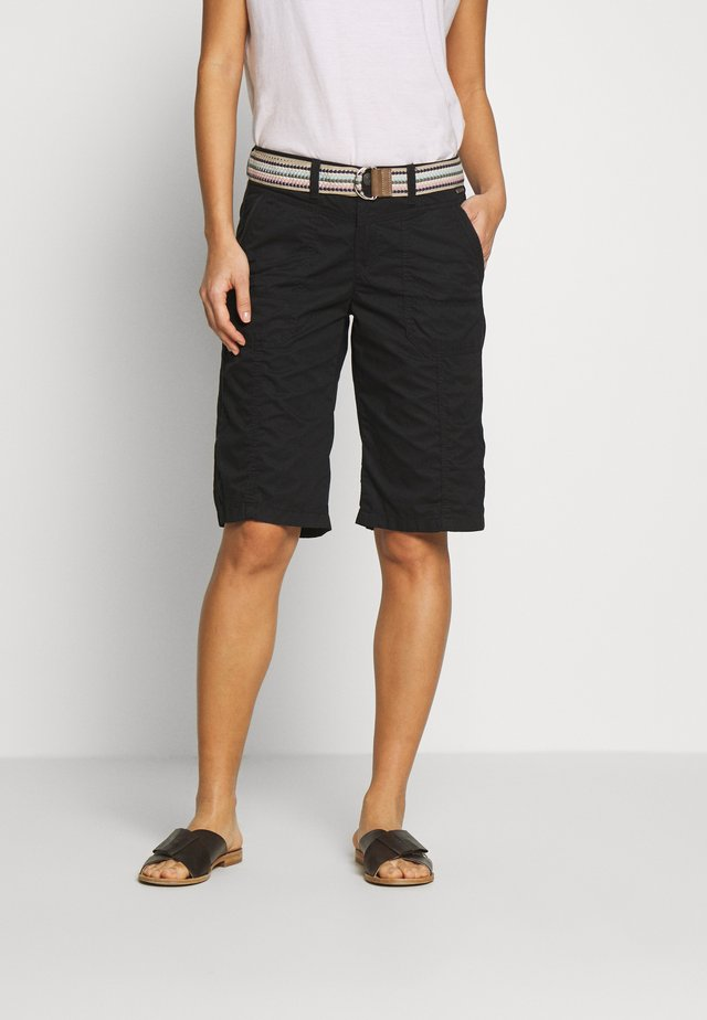 F PLAY BERMUDA - Shorts - black