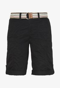 Esprit - F PLAY BERMUDA - Shorts - black - 3