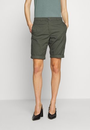 BERMUDA - Shorts - khaki green