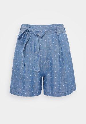 Short - blue medium wash