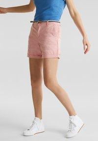 Esprit - Shorts - dark old pink - 0