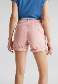 Esprit - Shorts - dark old pink - 4