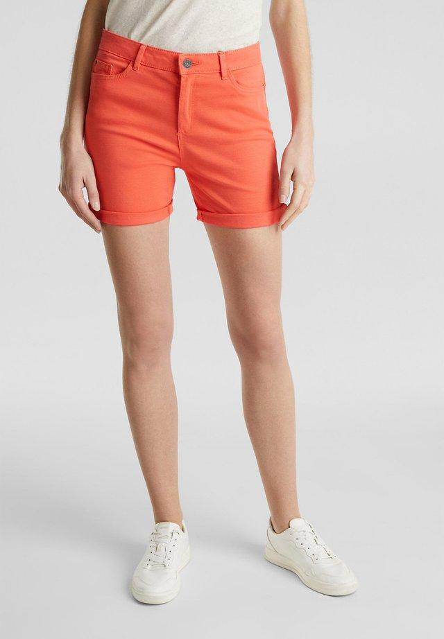 Jeansshort - coral
