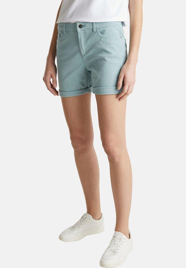 Jeansshorts - light aqua green