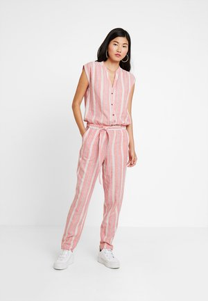 OVERALL - Overal - coral red