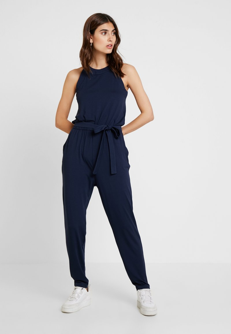Esprit - OVERALL SOLID - Jumpsuit - navy