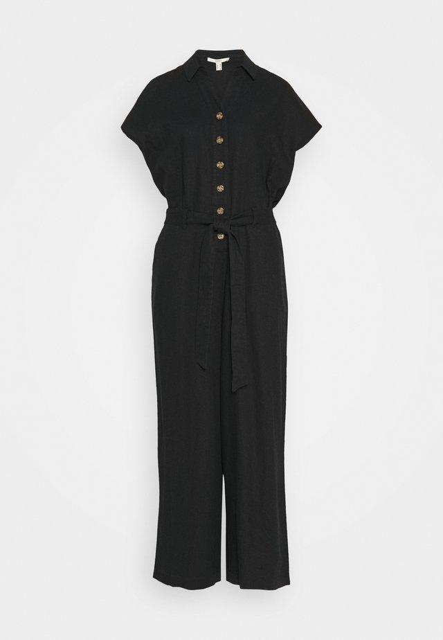 SPRING - Jumpsuit - black