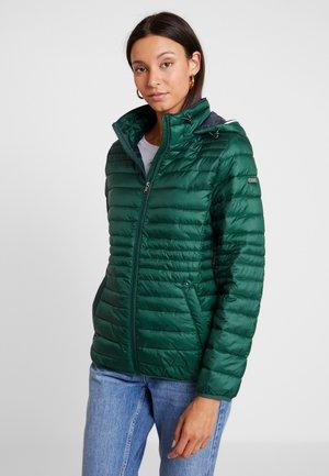 Light jacket - bottle green