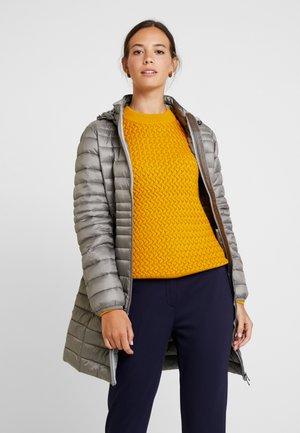 Zimní kabát - light gunmetal