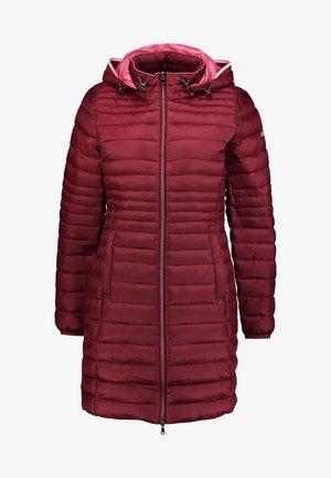 Winterjas - dark red