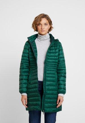Vinterkåpe / -frakk - bottle green