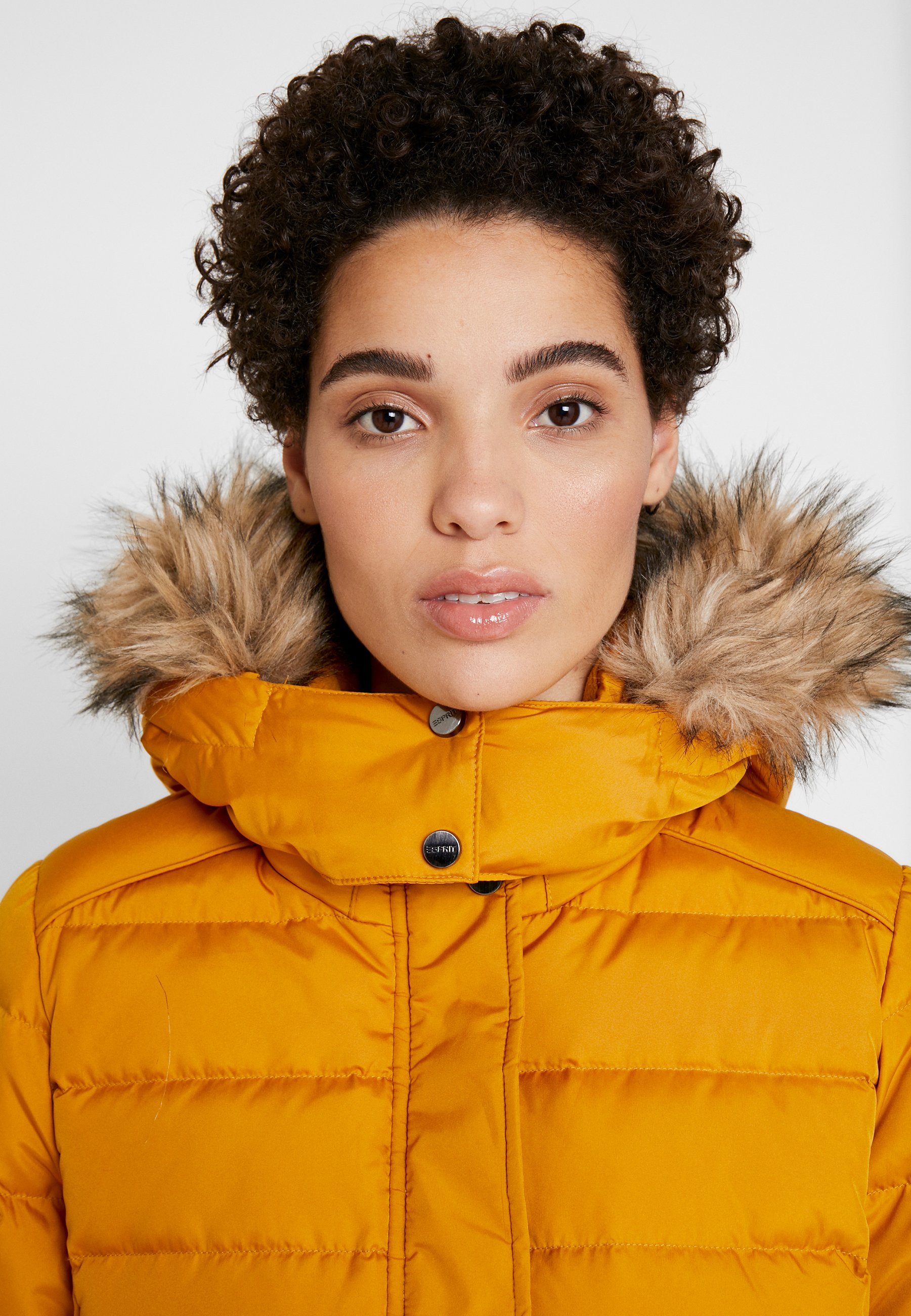 Esprit JACKET - Giacca invernale amber yellow