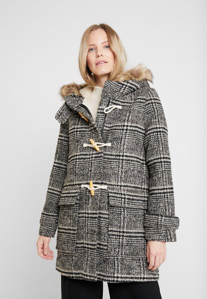 Esprit - DUFFLE COAT - Manteau classique - dark grey