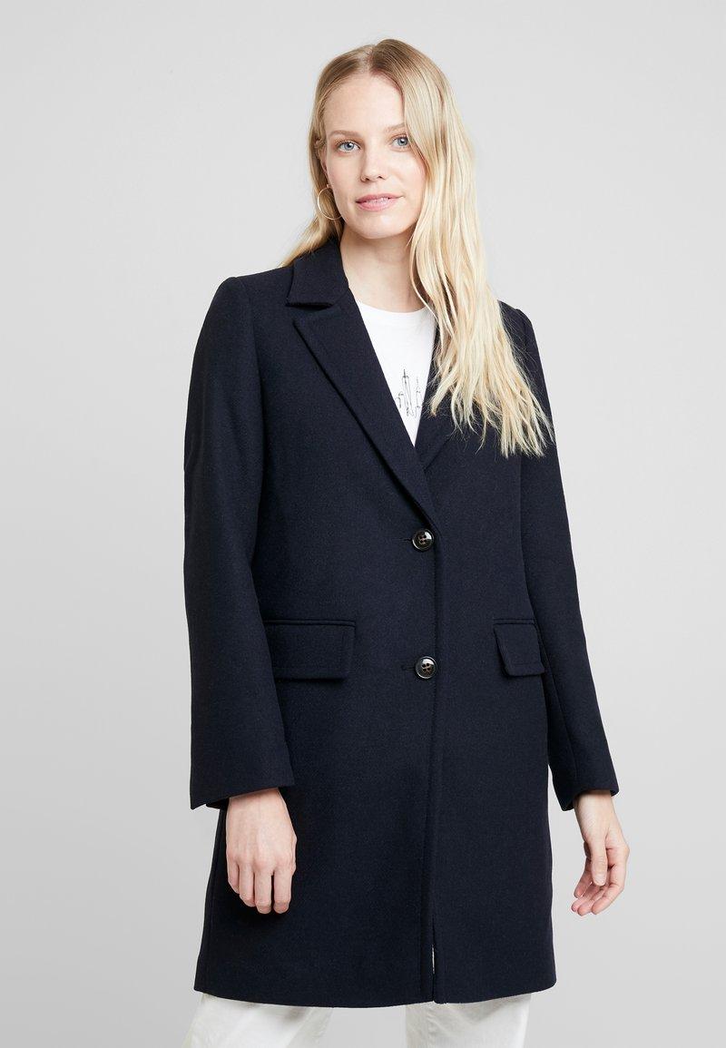 Esprit - NEW BASIC - Zimní kabát - navy